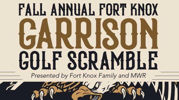 Annual Fall Garrison 4 Man Scramble