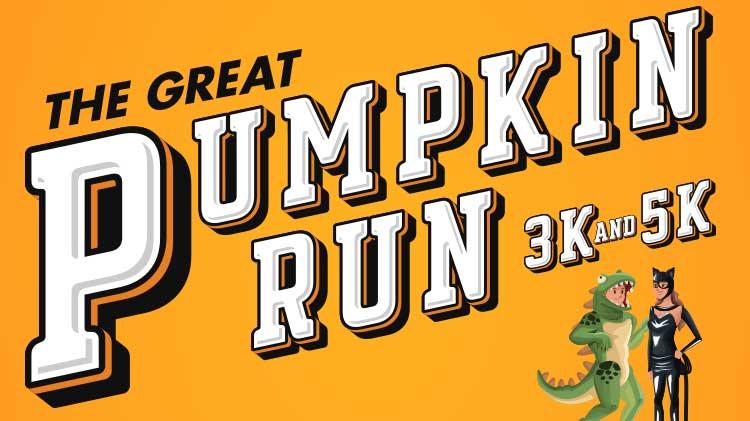 The Great Pumpkin 5k/3k Fun Run