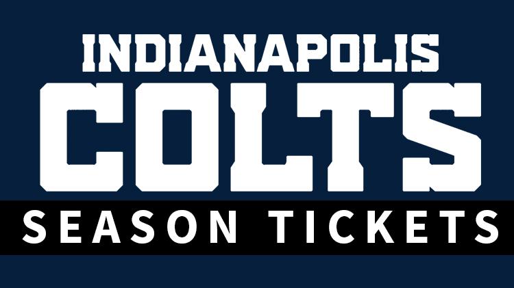 Colts Season Tickets