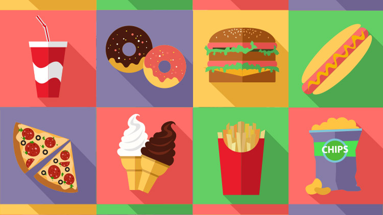Devers Junk Food Bingo