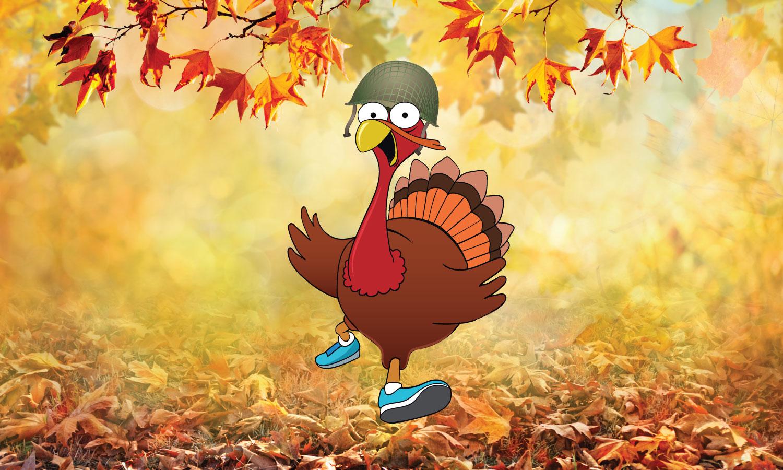 10,006 Steps: Huffin' & Puffin' 4 Turkey & Stuffin'
