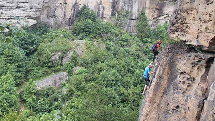 Via Ferrata Climbing Course
