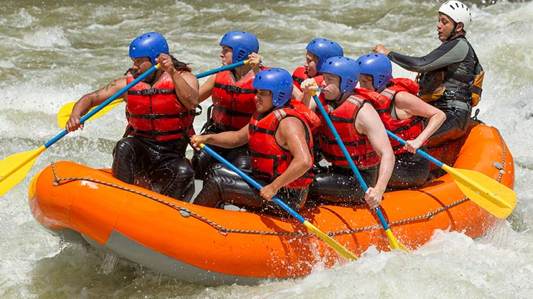 Whitewater Rafting Nantahala