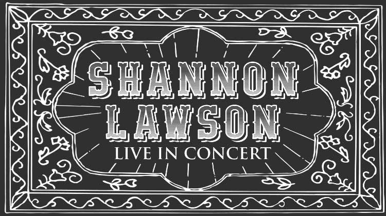 Live Music Patio Party: Shannon Lawson