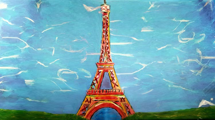 Get Artsy Canvas Painting Class