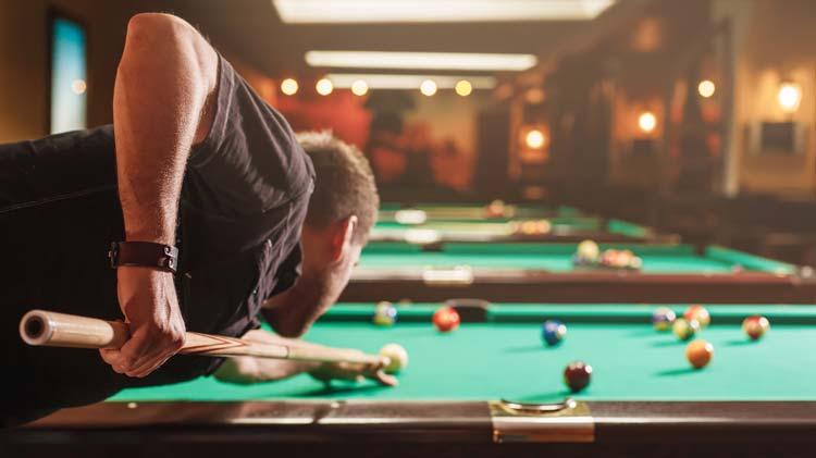 8 Ball Billiards Tournament
