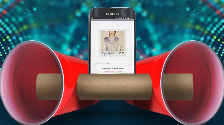 Smartphone Speaker Hack