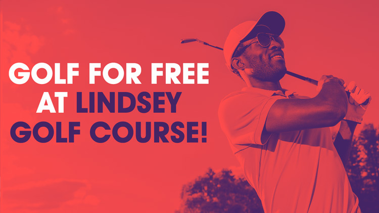 Visitors Golf for FREE at Lindsey