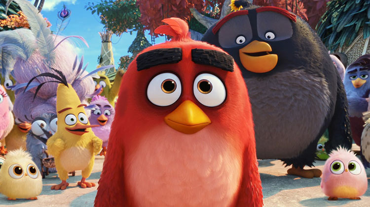Movie Monday: Angry Birds 2