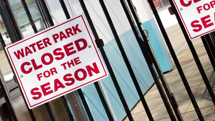 Water Park to Close for the Summer 2018 Season