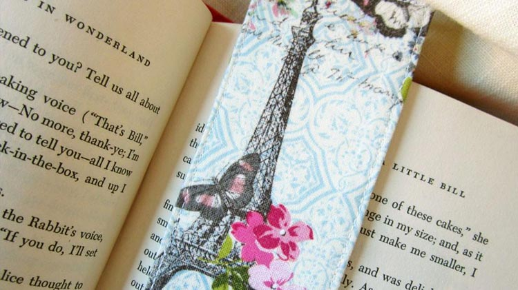 Teen Sewing 101: Fabric Bookmarks