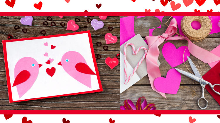Card Making for Valentine's