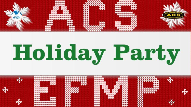 EFMP Support Holiday Party