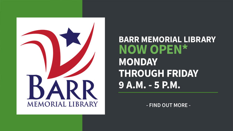 Barr Library Reopens