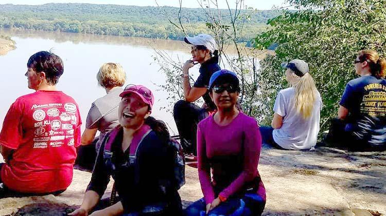 Distance Hike at Otter Creek Park